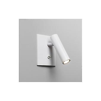 Enna Switched Square White LED Wall Light - Astro Lighting 7360