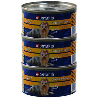 Ontario Dog Chicken Pieces / Gizzard 200g (Hunde , Hundefutter , Nassfutter)