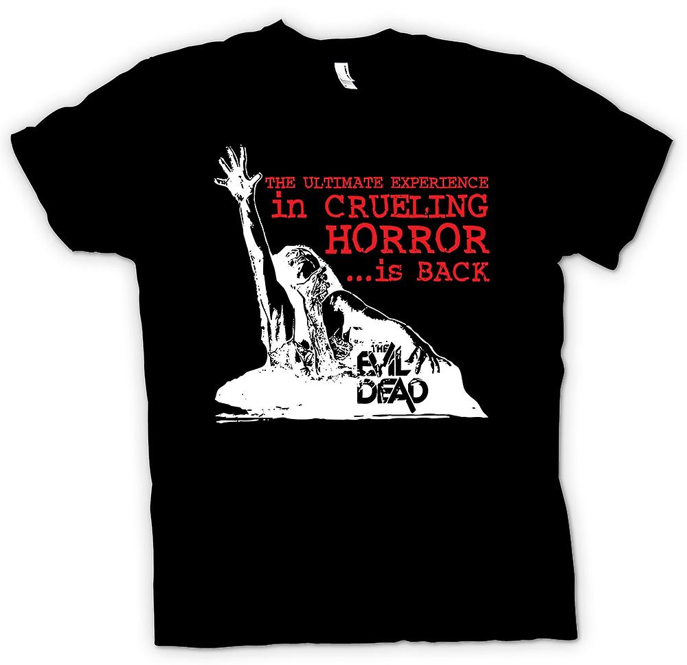 Womens T-shirt-The Evil Dead wrede - horrorfilm