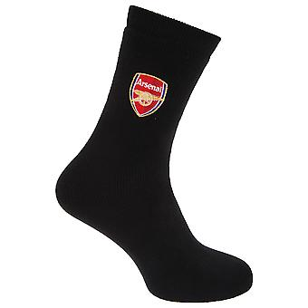 Arsenal FC Official Football Crest Thermal Socks (1 Pair)