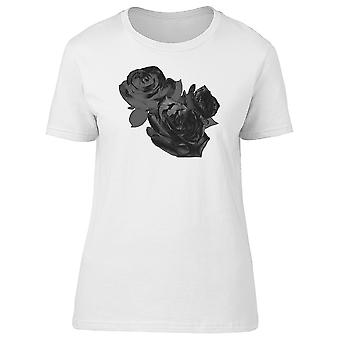 Three Black Roses Tee Women's -Image by Shutterstock