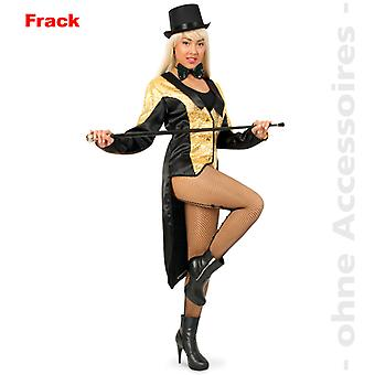 Frack frock coat Womens costume sequins ladies costume