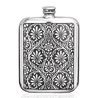 Victorian Pewter Purse Flask - 6oz