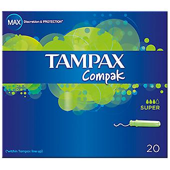 Tampax Tampax cardboard super applicator tampons