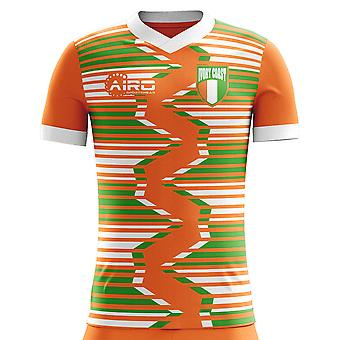 Camiseta Costa de Marfil 2018 - 2019 casa concepto