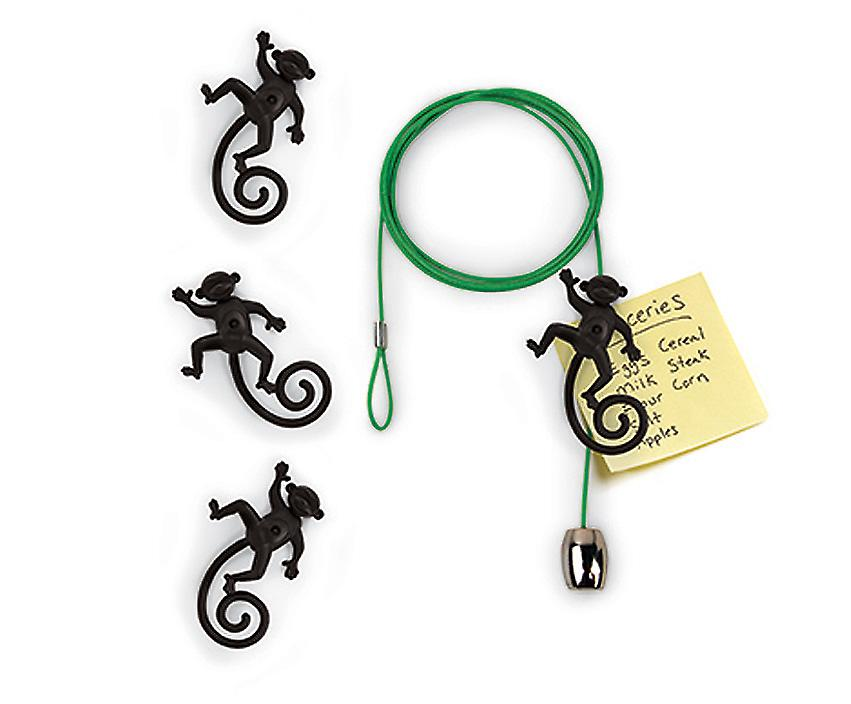 Magnetic Monkey Cable Photo or Card Holder
