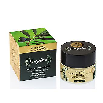 Face cream olive oil and beeswax by Evergetikon 50ml