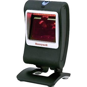 Honeywell AIDC Genesis 7580 G Barcode scanner Corded 1D, 2D Imager Silver, Black Desktop USB
