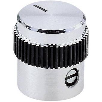 Mentor 5615.6614 Control knob Aluminium (Ø x H) 15 mm x 15 mm 1 pc(s)