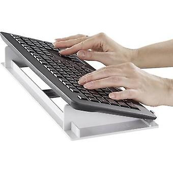 Unterstützung Tastaturunterlage das Tastaturständer grau