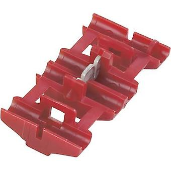 TE Connectivity 735410 Low power connector flexible: 0.5-0.75 mm² rigid: 0.5-0.75 mm² Number of pins: 2 1 pc(s) Red