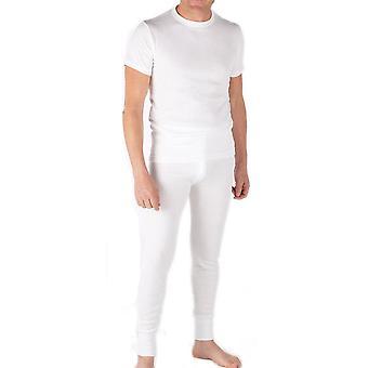 Mens Thermal Set Short Sleeve Vest and Long Johns XL