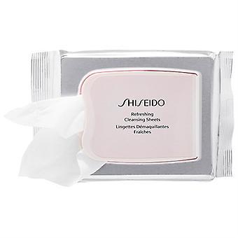 Shiseido rafraîchissant nettoyage feuilles 30 Ct