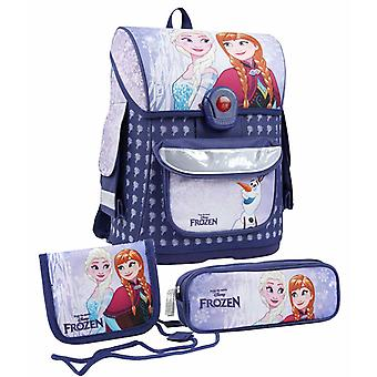 3 in 1 Frozen Anna Elsa Ergonomic school bag Backpack