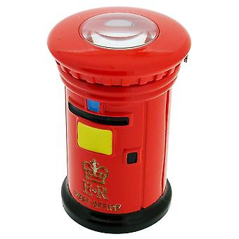 Gift Time Products ER Post Box Mini Clock - Red
