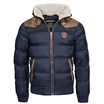 GEOGRAPHICAL NORWAY Quilted Jacket mens winter jacket Navy