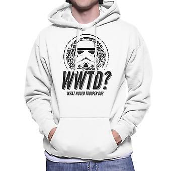 Original Stormtrooper was täten Trooper den Herren Sweatshirt mit Kapuze