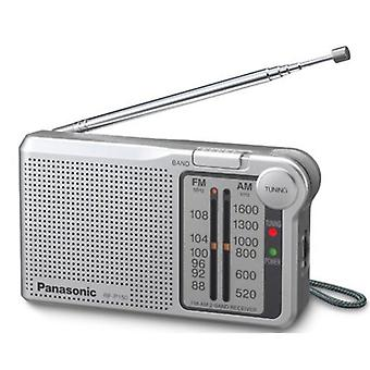 Panasonic RFP150DEG-S Portable AM/FM Radio - Silver