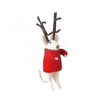 Ciel envoie Christmas Mouse maison décoration