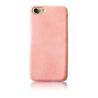 Pink plush case - iPhone 7/8