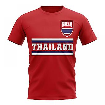 Thailand Core Football pays T-Shirt (rouge)