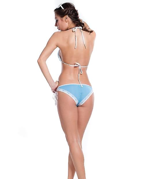 Waooh - Beach - Bikini Set with white lace