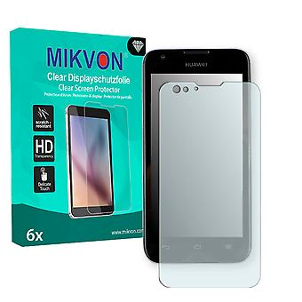 Huawei Ascend Y550 Screen Protector - Mikvon Clear (Retail Package with accessories)