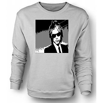 Heren Sweatshirt Bon Jovi - BW Rock Band