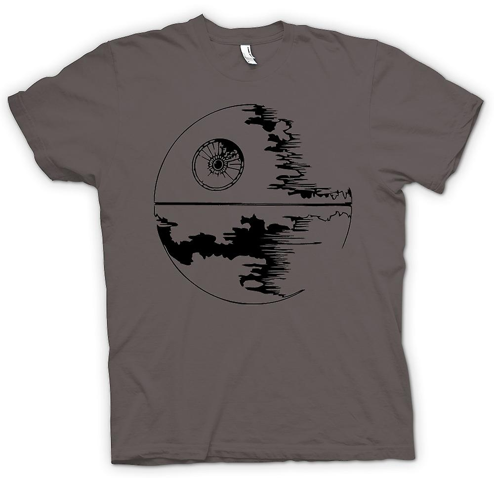 Womens T-shirt - Death Star Under Construction