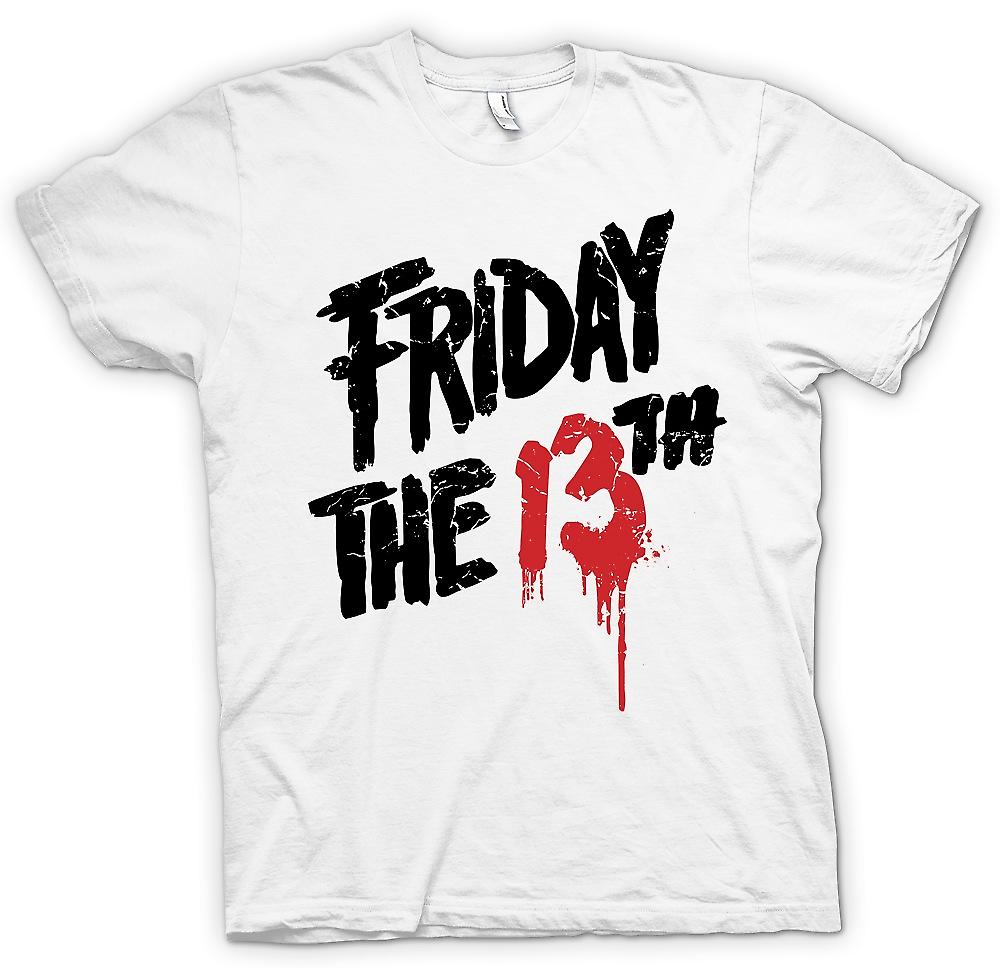 Womens T-shirt - Friday The th - Blood Logo