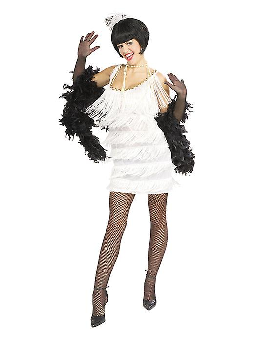 Broadway Babe Wearing White Dress - Lifesize Cardboard Cutout / Standee