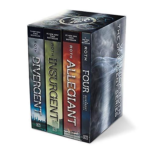 Divergent Series Set  Divergent, Insurgent, Allegiant, Four