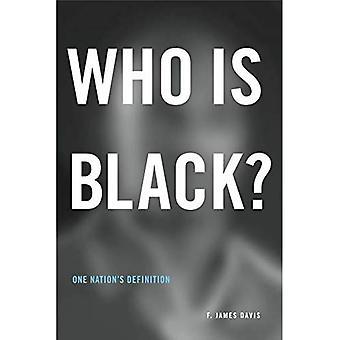 Chi è nero?: definizione di una nazione