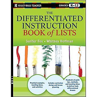 Le livre de pédagogie différenciée des listes