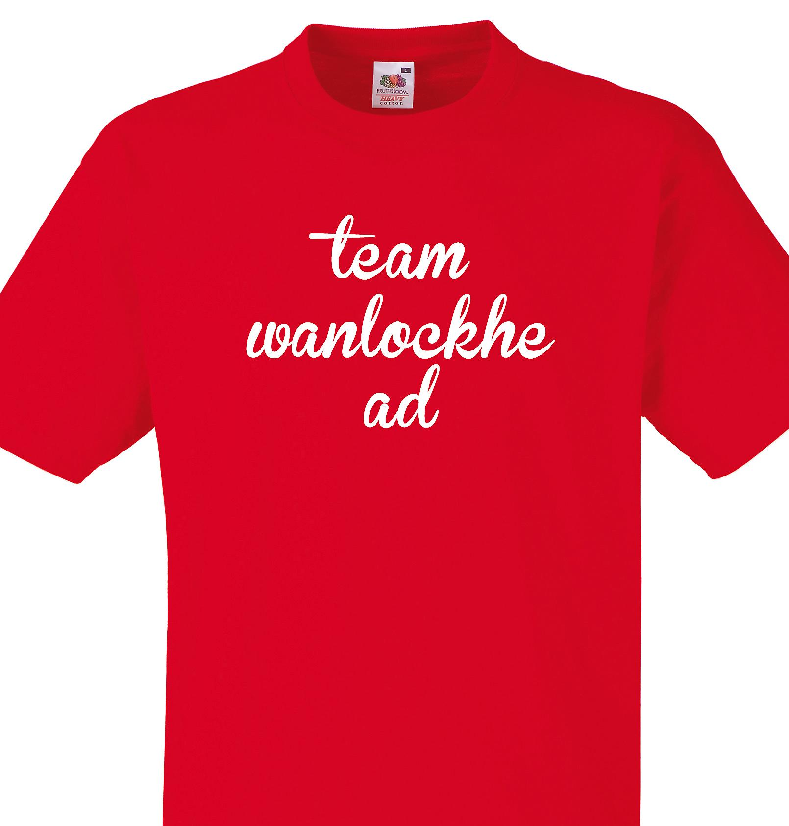 Team Wanlockhead Red T shirt