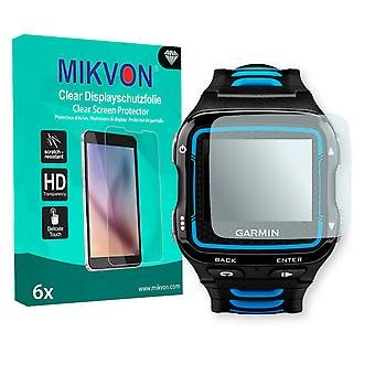 Garmin Forerunner 920XT Screen Protector - Mikvon Clear (Retail Package with accessories) (reduced foil)
