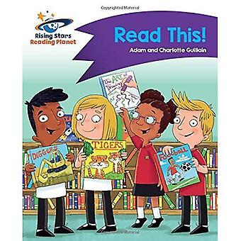 Lezing de planeet - Lees dit! -Paars: Komeet Street Kids (Rising Stars planeet lezen)