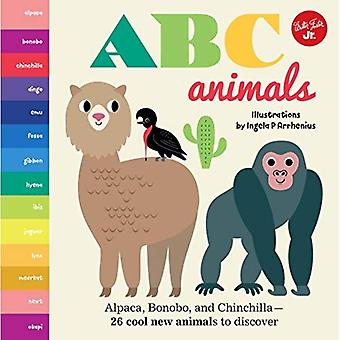 Little Concepts: ABC Animals: Alpaca, Bonobo, and Chinchilla - 26 cool new animals to discover (Little Concepts) [Board book]