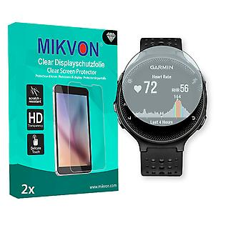 Garmin Forerunner 235 Screen Protector - Mikvon Clear (Retail Package with accessories)