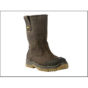 DEWALT Tungsten S3 Rigger Brown Boots UK 10 Euro 44