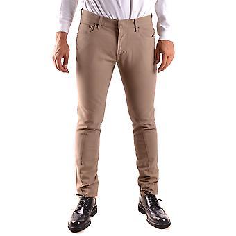 Stone Island Beige Cotton Jeans