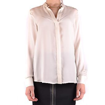 ミハエル Kors ベージュ シルクのシャツ