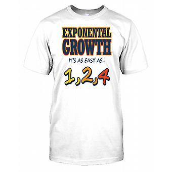 Exponential Growth - Its As Easy As 1,2,4 Kids T Shirt