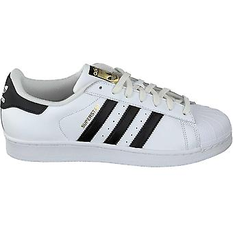 Adidas Superstar racer ZX mens lage sneakers wit