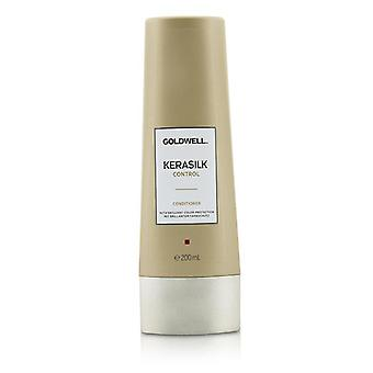 Goldwell Kerasilk Control Conditioner (For Unmanageable Unruly and Frizzy Hair) - 200ml/6.7oz
