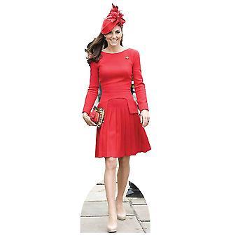 Catherine Herzogin von Cambridge - Kate Middleton Lifesize Karton Ausschnitt / f / Standup