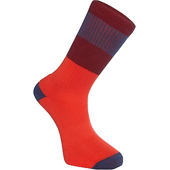 Madison True Red-Ink Navy Alpine MTB Socks