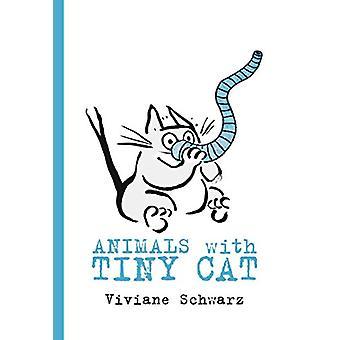 Animals with Tiny Cat by Viviane Schwarz - 9780763698188 Book