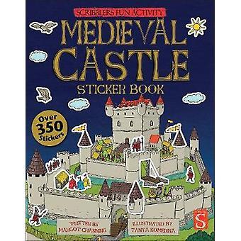 Scribblers Fun Activity Medieval Castle Sticker Book by Scribblers Fu