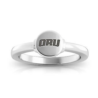Oral Roberts University Golden Eagles Logo Engraved Signet Ring